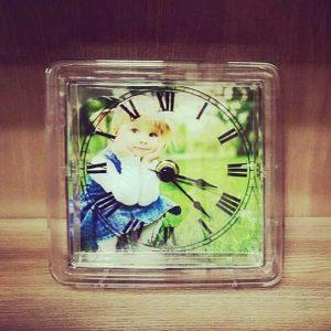 Часы с фото